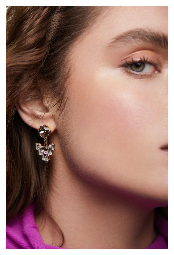earring on model