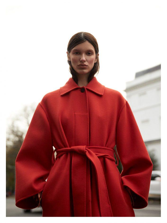 Ekin Can Bayrakdar Model Standing Lofficiel Magazine Baltics Red JilSander Ekin Can Bayrakdar - Fashion Photographer https://ekincanbayrakdar.com/