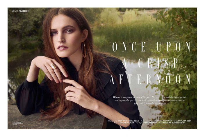Ekin Can Bayrakdar Model on the bridge portrait grazia magazine Ekin Can Bayrakdar - Fashion Photographer https://ekincanbayrakdar.com/