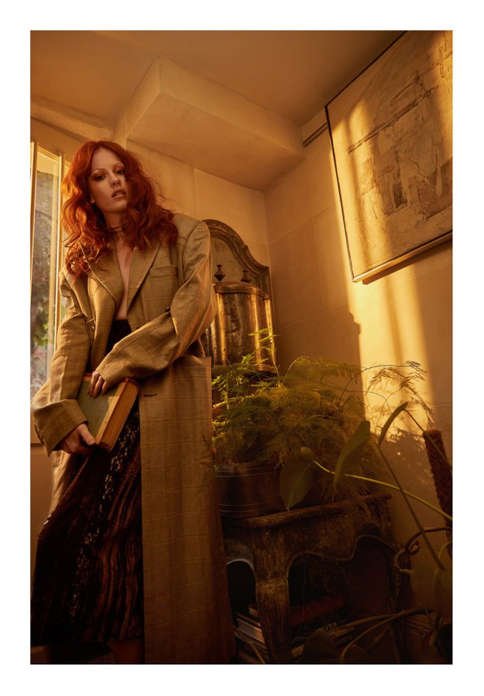 Lofficiel Lithuania Ginger Model Indoor Ekin Can Bayrakdar - Fashion Photographer https://ekincanbayrakdar.com/